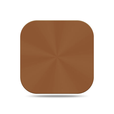The copper button is design for web design and others.