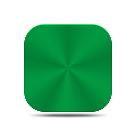 The green metal is create for web and others. Stock Photo