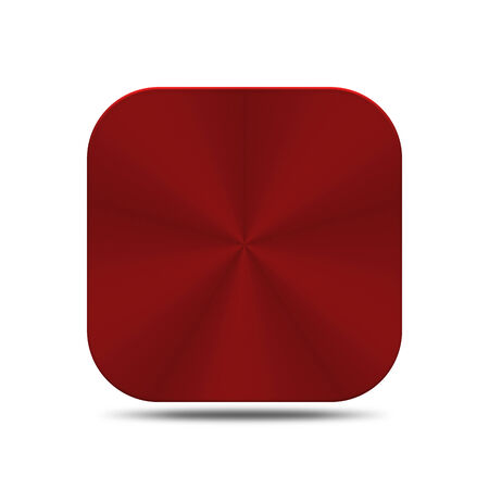 The red metal is create for web and others. Stock Photo
