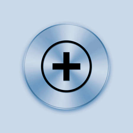 knob: The metal knob button is design for web design and others.