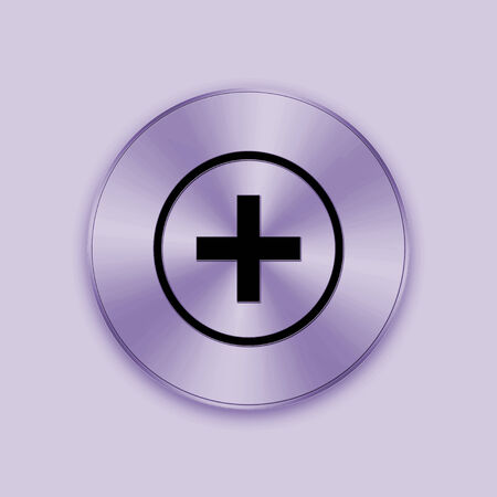 purple metal: The purple metal button is design for web and others.