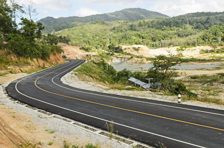 A new road is making for all people Stock Photo
