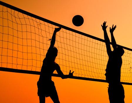 Un beach-volley est un sport populaire en Thaïlande. Banque d'images - 36157225