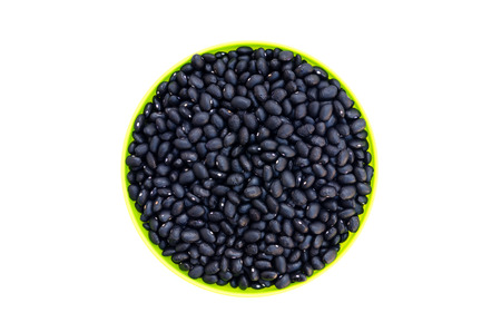 turtle bean: The black beans are in a bowl