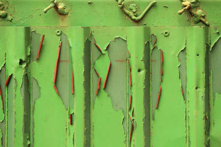 Rust Green wall paper photo