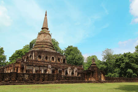 historic site Sukhothai photo