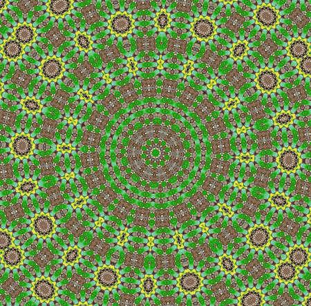 Mandala.decorative pattern. photo
