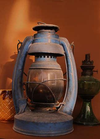 oillamp: Old oil lamp