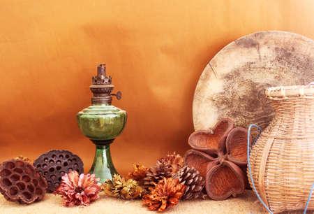 oillamp: old oil lamp old fashione