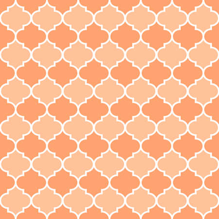 Simple moroccan trellis repeat pattern. Organic shape element for textile, wallpaper, fabric, packages, wrapping, decoration, etc.