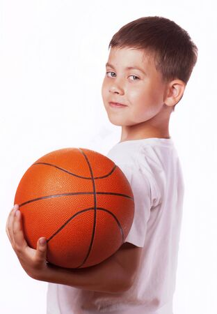 child with ball photo
