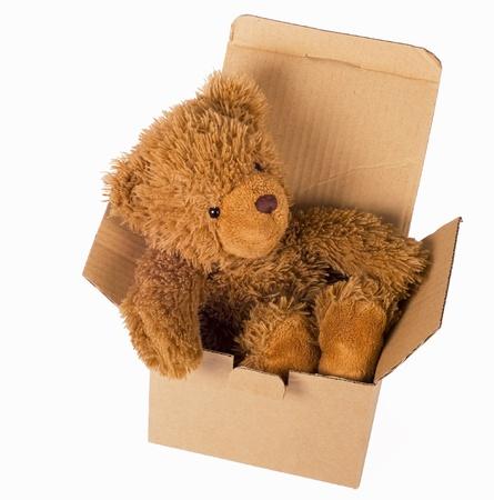 love toys: Toy bear Stock Photo