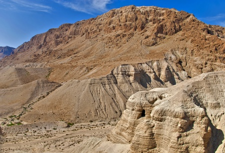Caves of Qumran, Israel photo
