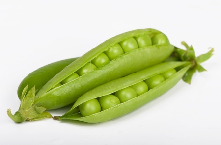 Fresh  peas photo