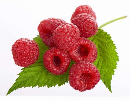 Fresh Raspberries Stock Photo - 14448208