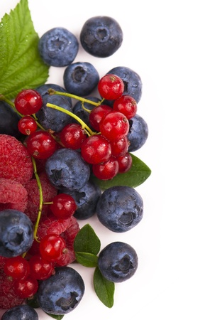 Berry mix - raspberries and blueberries