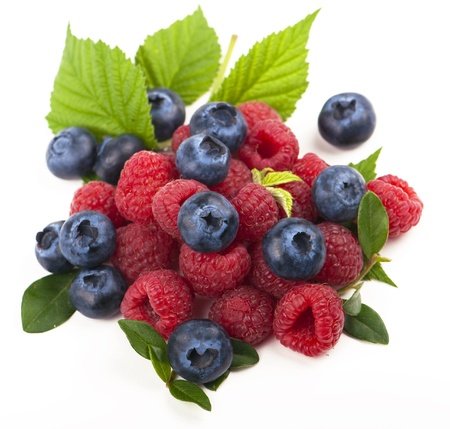 Berry mix Stock Photo