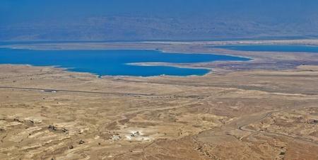 judaean: Kind from an ancient fortress of Massada, Dead Sea Stock Photo