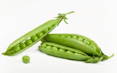 Green peas photo
