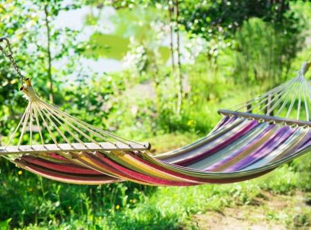 hammocks: amaca in un giardino