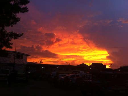 cease: tramonto non finiscono mai di stupirmi Archivio Fotografico