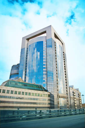 business centre: New modern business centre in city centre of Moscow Editorial