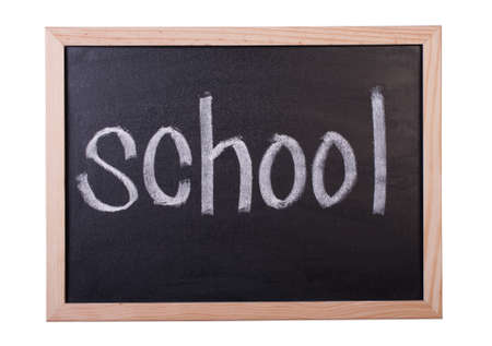 Blackboard the written word school Stock Photo - 14643763