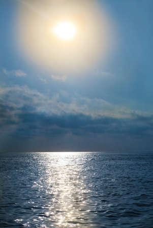 beautiful landscape with sea sky and  sun Stock Photo - 17251024