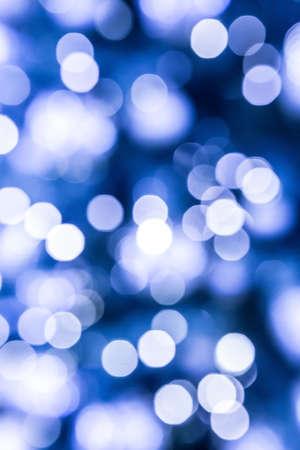 degradation: degradation of light spots on blue background Stock Photo