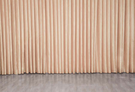 studio backdrop: fabric draped curtain for background
