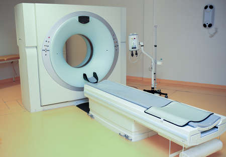 tomograph: big new medical tomograph in clinic