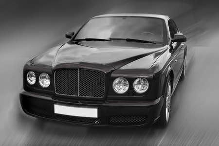 the case before:  beautiful prestigious modern  car on the area