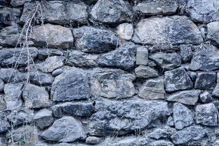 stone wall: masonry stone wall rock construction pattern