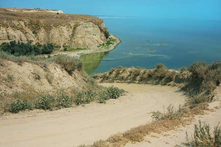 high river bank Volga Rossiya