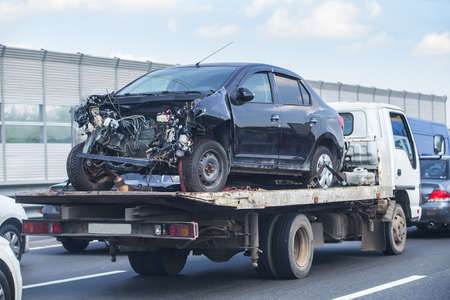 help on road transports wrecker broken car