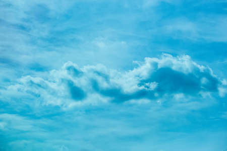 beautiful blue heavenly landscape with clouds
