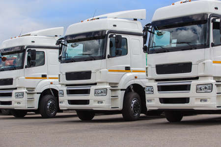 New white trucks for sale. Dealer trucks