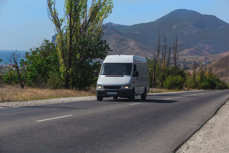 Minibus Rides on the Picturesque mountain highway