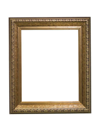 picture frame isolated on white background 免版税图像