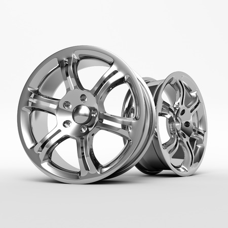 Aluminium Alloy rims, Car rims. Custom wheels for  car. 免版税图像 - 58818286