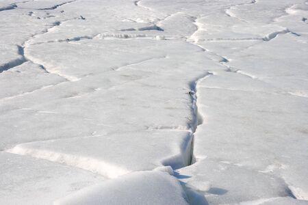 Invoice, texture is ice photo