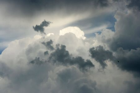 Cloudy sky, texture, background photo