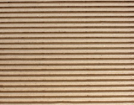 corrugated cardboard: brown texture of cardboard, striped
