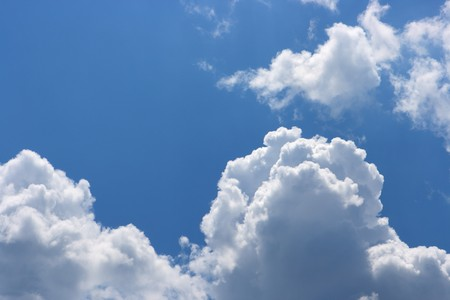 Cloudy sky, texture, a background photo