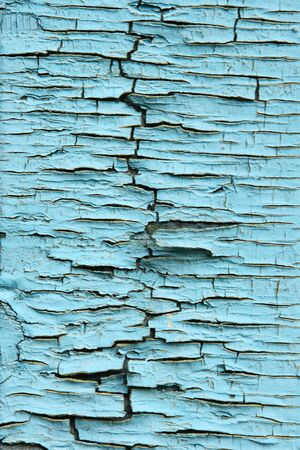 texture of the old blue paint, background photo