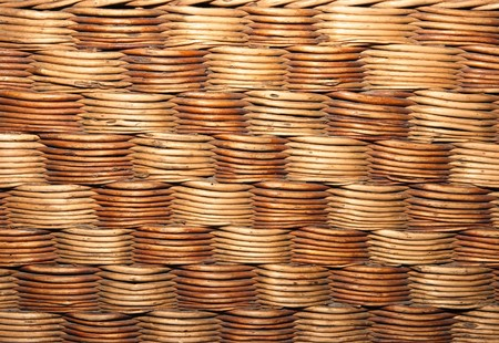 texture of the old wicker, weaving photo