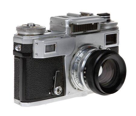 antiquity: Dusty old Soviet camera