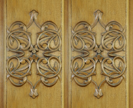 Wood carving, texture, background photo