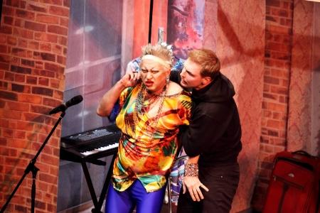 DONETSK, UKRAINE - NOVEMBER 22: Performance in the theater