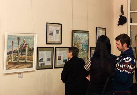 ルーク: ドネツクではドネツク - 2 月 16 日: 開港、ArtDonbass で「聖ルカ クリミア」展。2015 年 2 月 16 日ドネツク
